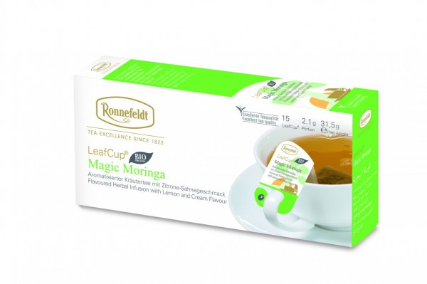 Ronnefeldt LeafCup Magic Moringa, BIO, 6 x 15 LeafCup