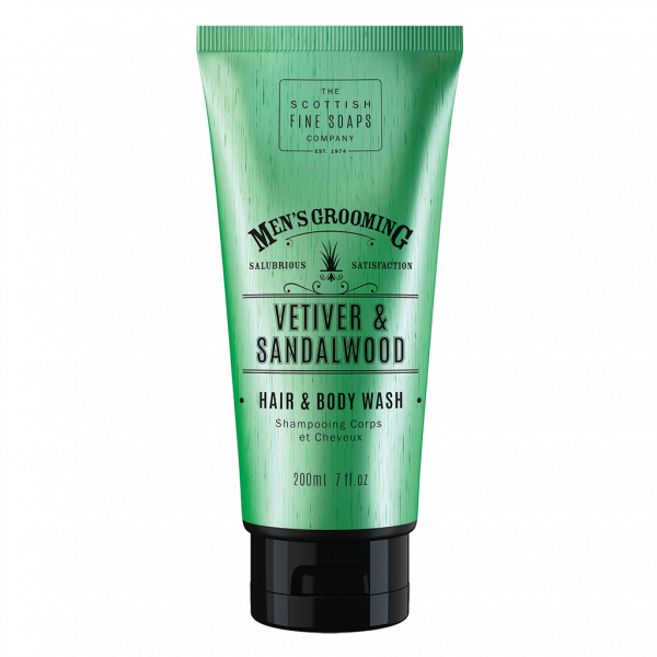 MG Vetiver&Sandalwood Hair & Body Wash 200ml Tube