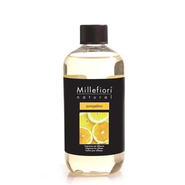 Millefiori Nachfüllflaschen 500ml Pompelmo, Natural Fragrances, VE 4 Stück-
