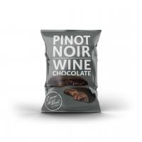Cacao di Vine Schokoladendrops gefüllt, Pinot Noir Wine Chocolate, 5 x 40g