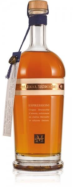Marzadro Grappa ESPRESSIONI SOLERA limited edition 0,7l