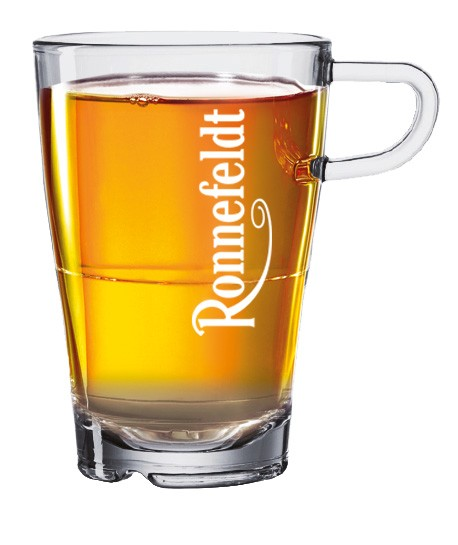 Glas mit Logo Ronnefeldt 0,32l 6 Stück