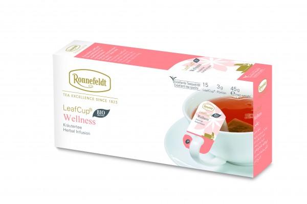 Ronnefeldt LeafCup Wellness Tee , BIO, 6 x 15 LeafCup
