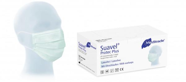 Meditrade Mundschutz Suavel protect Plus 3-lagig, 50 Stück