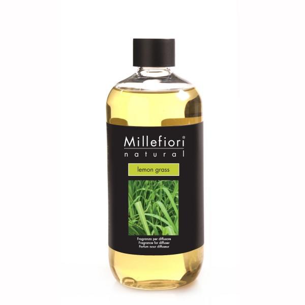 Millefiori Nachfüllflaschen 500 ml, VE 4 Stück, Lemon grass
