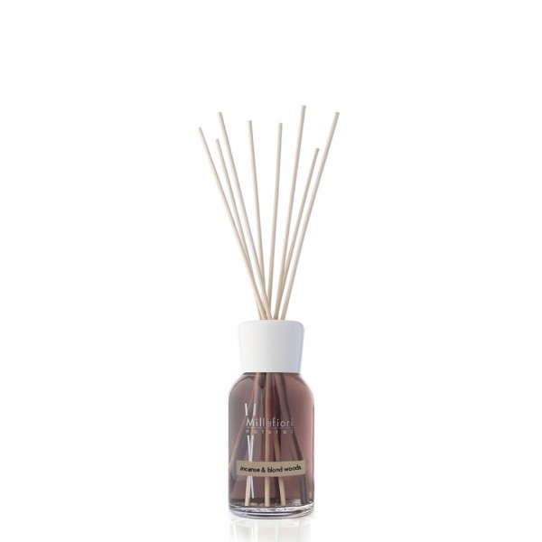 INCENSE & BLOND WOODS Millefiori Duftdiffuser 250ml, Natural Fragrances, VE 4 Stück