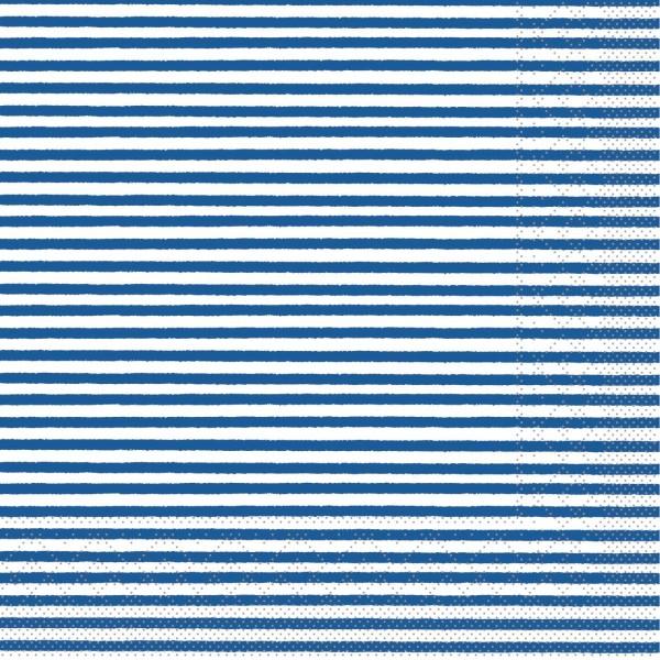 """MANK Servietten Structure, """"HEIKO BLAU"""" aus Tissue, 3-lagig, 40x40 cm"""