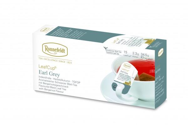 Ronnefeldt Tee LeafCup Earl Grey 6 x 15 Stück