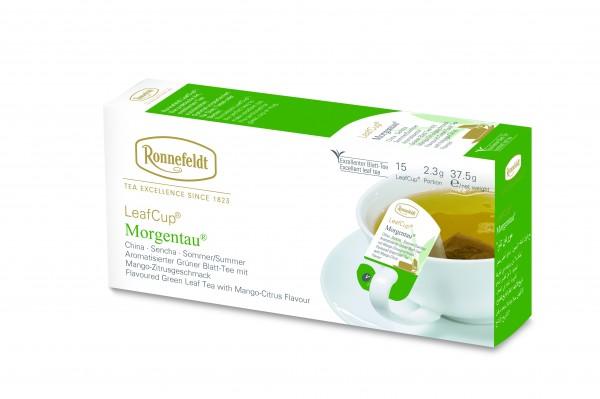 Ronnefeldt Tee LeafCup Morgentau 6 x 15 Stück