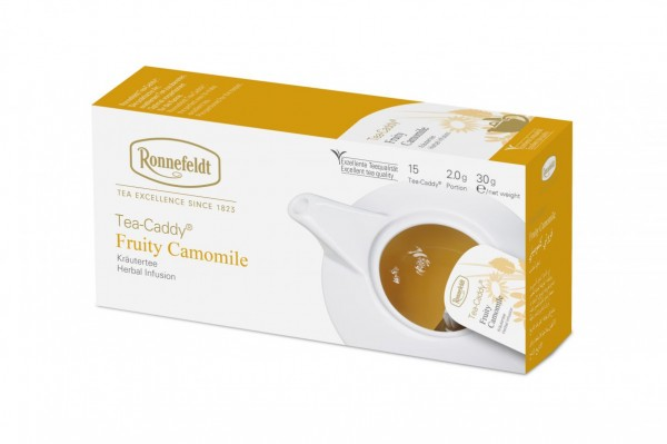 Ronnefeldt Tea-Caddy Fruity Camomile, 5 x 15 Portionen
