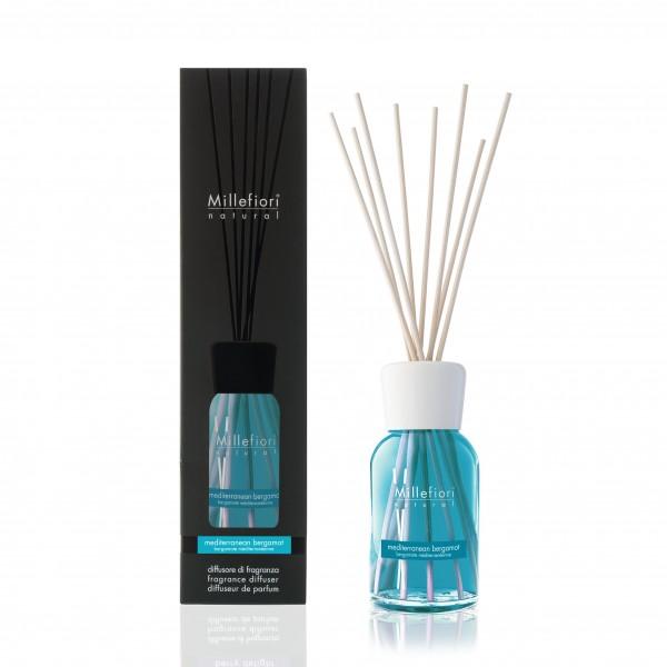 MEDITERRANEAN BERGAMOT Millefiori Duftdiffuser 250ml, Natural Fragrances, 1 Stück