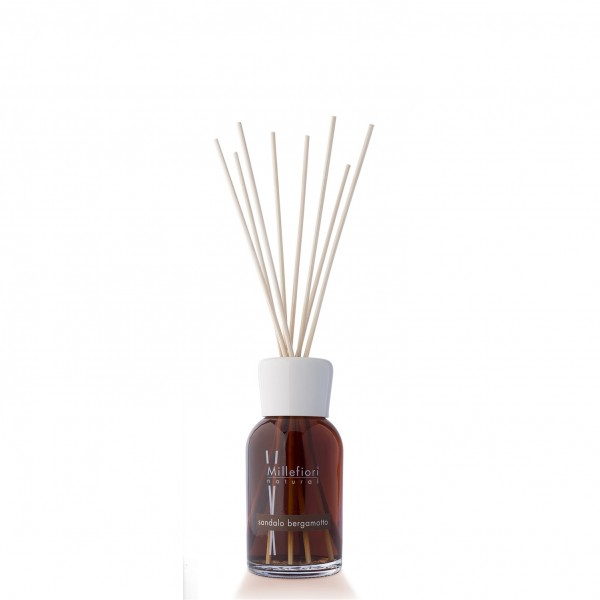 Millefiori Duftdiffuser 250ml Sandalo Bergamotto, Natural Fragrances, 1 Stück