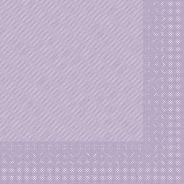 MANK Servietten aus Tissue 3-lagig, 33x33 cm, lila
