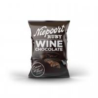 Cacao di Vine Schokoladendrops gefüllt, Niepoort Ruby Wine Chocolate, 5 x 40g