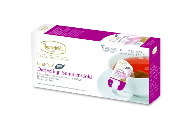 Ronnefeldt LeafCup Darjeeling Summer Gold , 6 x 15 LeafCup