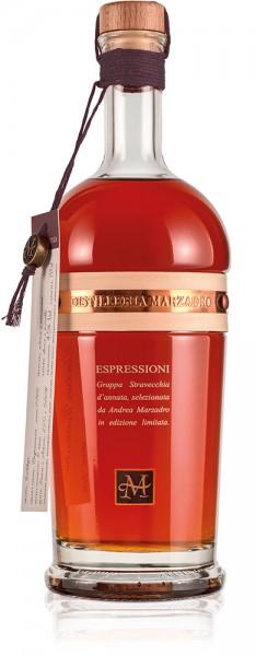 Marzadro Grappa ESPRESSIONI FUTURA limited edition 0,7l