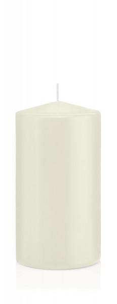 Wiedemann Flachkopf-Kerzen getaucht, Elfenbein, 16 Stück, 120x60 mm