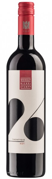 Bickel Stumpf TWENTY SIX ROT 6 Flaschen
