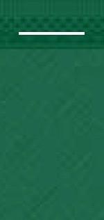 Mank Pocket-Napkins mit Schlitz, dunkelgrün Linclass 600 Stück
