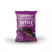 Cacao di Vine Schokoladendrops gefüllt Cabernet Sauvignon 5 x 40g