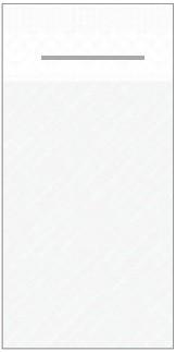 Mank Pocket-Napkins mit Schlitz, weiß Linclass 600 Stück