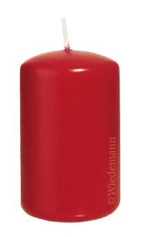 Wiedemann Flachkopf-Kerzen getaucht, rot, 16 Stück, 100x60 mm