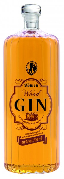Löwen Wood Gin, 40% Vol. 0,7 Liter