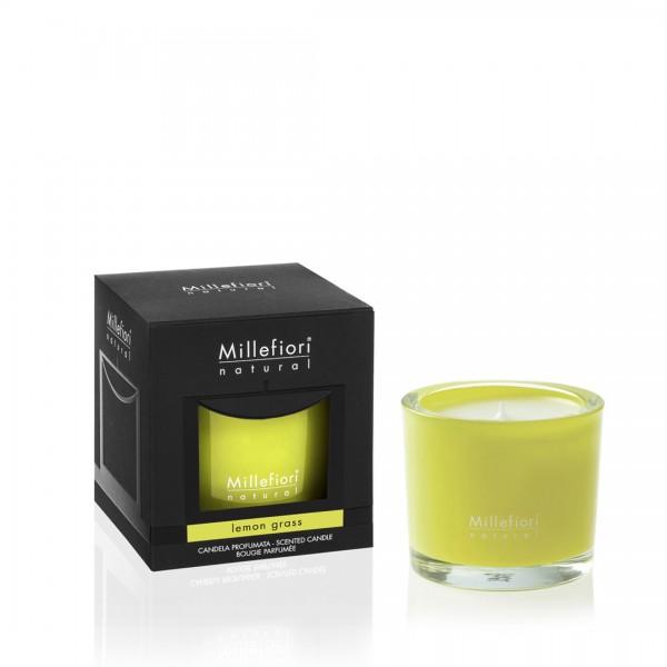Millefiori Duftkerze Lemon Grass, 180g